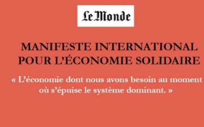 Manifiesto internacional por una economía solidaria