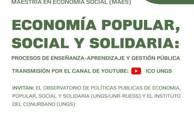 Economía popular, social y solidaria: procesos de enseñanza – aprendizaje y gestión pública